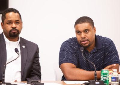 State Senator Sharif Street & State Representative Donna Bullock in partnership with State Senator Art Haywood hosted a Screening of The Mayor of Graterford, a film which follows the lives of two men who were sentenced to life without parole and released.